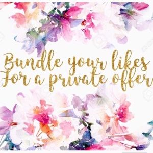 Bundle for a private offer! :)